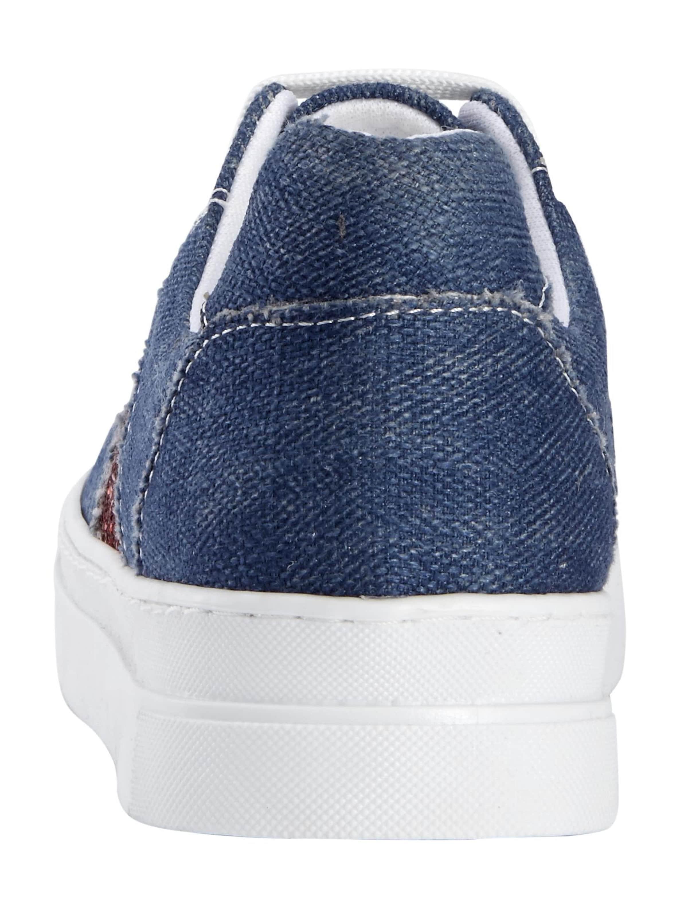 Sneaker Weiß In Andrea Conti Blue DenimRotmeliert QrCodBeWx