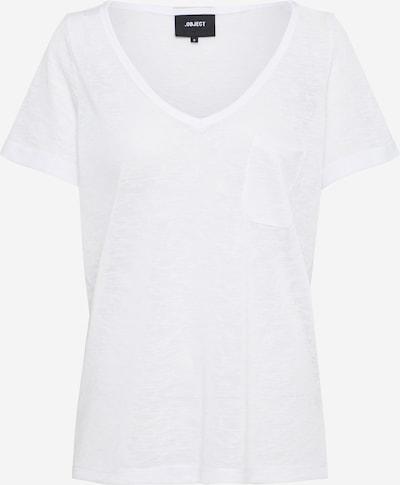 OBJECT Feinstrickshirt in weiß, Produktansicht