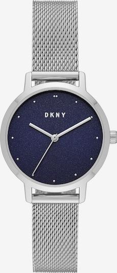 DKNY Uhr in navy / silber, Produktansicht