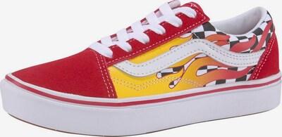VANS Sneaker in gelb / rot, Produktansicht