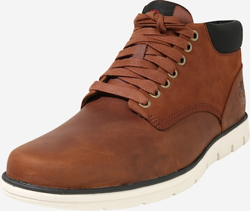 TIMBERLAND Lace-up boots 'Bradstreet Chukka' in Brown