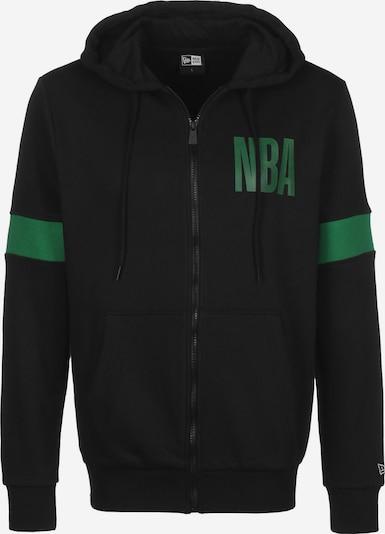 NEW ERA Hooded Zipper ' NBA Boston Celtics ' in schwarz, Produktansicht