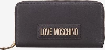 Love Moschino Portemonnaie in schwarz, Produktansicht