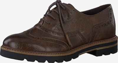 MARCO TOZZI Lace-up shoe in dark brown, Item view