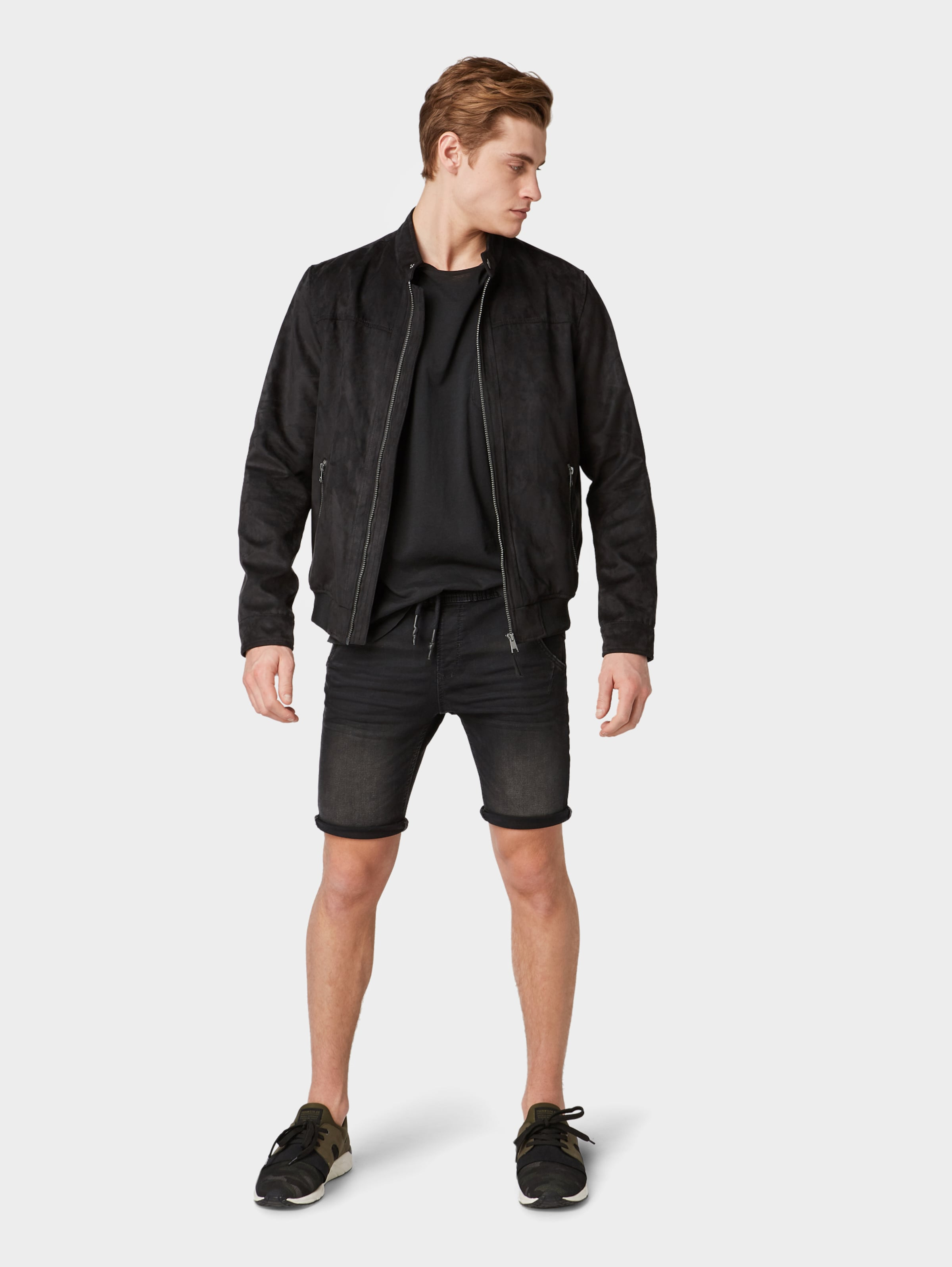 Chino Schwarz Tom In Shorts Denim Tailor NOvn0m8w