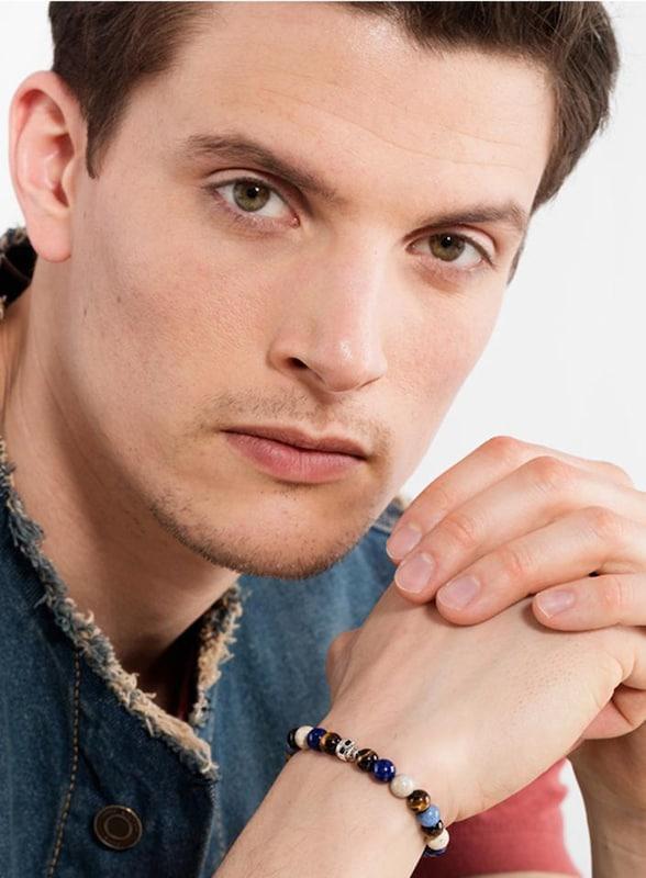 Thomas Sabo Armband 'Totenkopf'