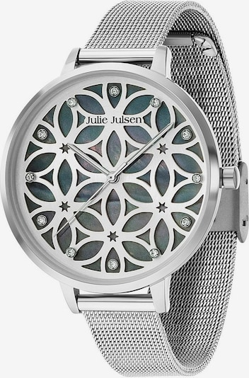 Julie Julsen Quarzuhr 'Flower of Life, JJW104SME' in silber, Produktansicht