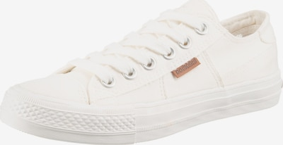 Sneaker low Dockers by Gerli pe alb perlat, Vizualizare produs