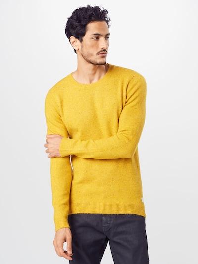 TOM TAILOR Pulover | rumena barva: Frontalni pogled