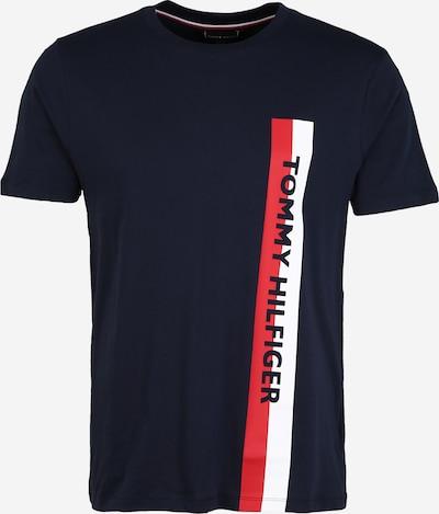sötétkék / piros / fehér Tommy Hilfiger Underwear Rövid pizsama ' Crew Neck ', Termék nézet