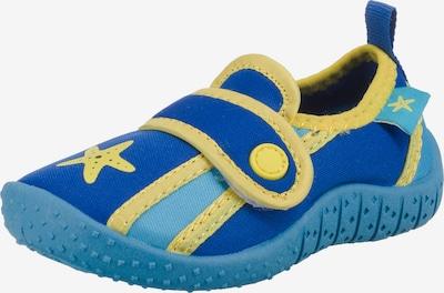 FASHY Badeschuhe 'Elliot' in blau / gelb, Produktansicht