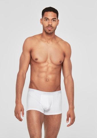 s.Oliver Boxershorts in Weiß