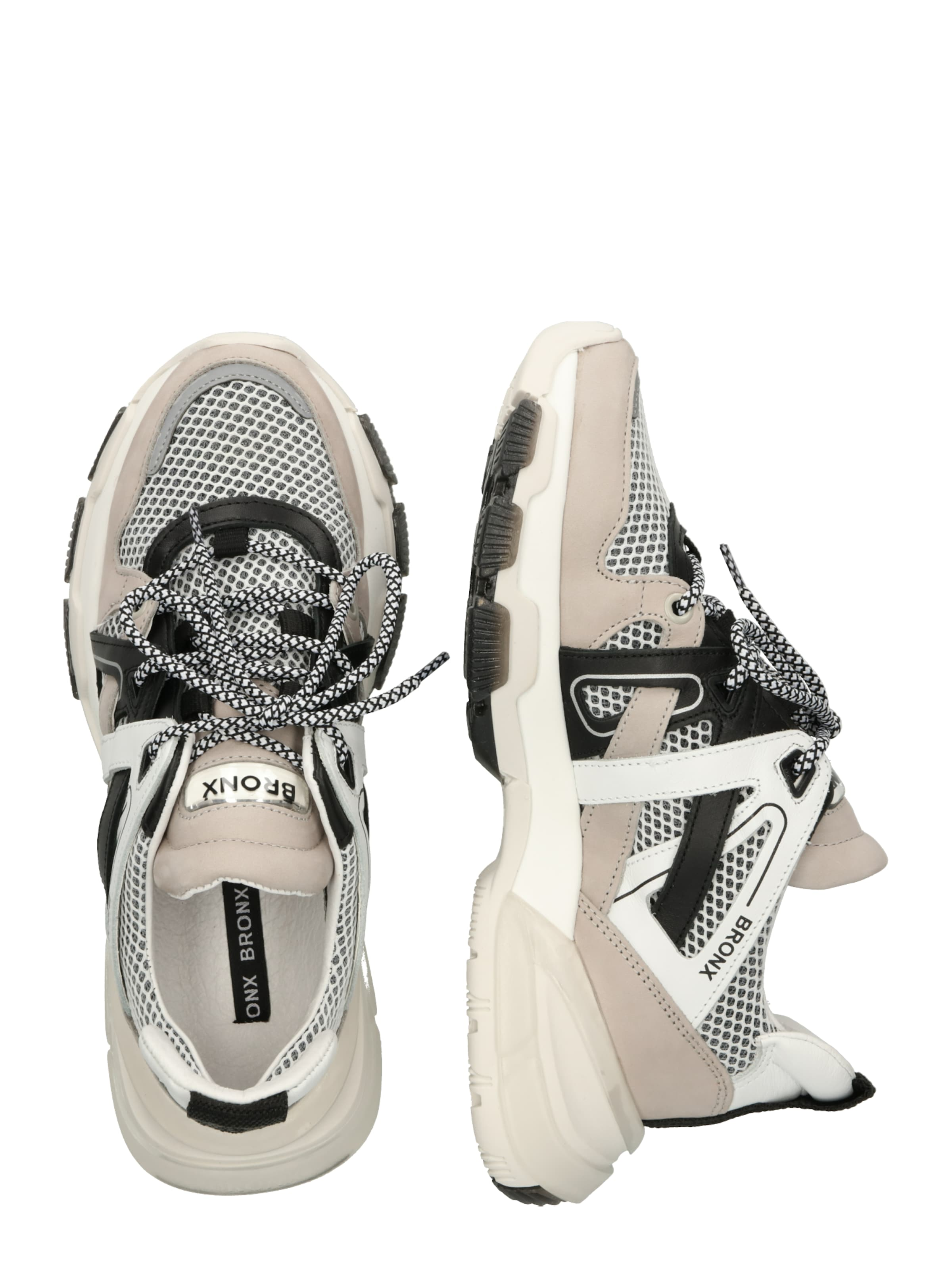 Sneaker HellgrauSchwarz Bronx Weiß 'seventy' In uPXkZiOT