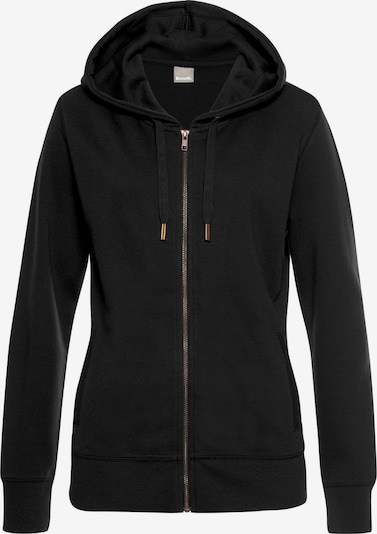 BENCH Loungejacke in schwarz, Produktansicht