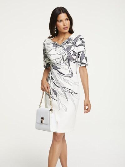heine Kleid in grau / weiß, Modelansicht