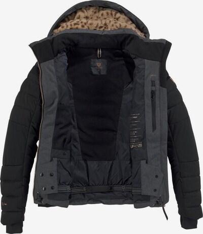 BRUNOTTI Skijacke in anthrazit / schwarz, Produktansicht