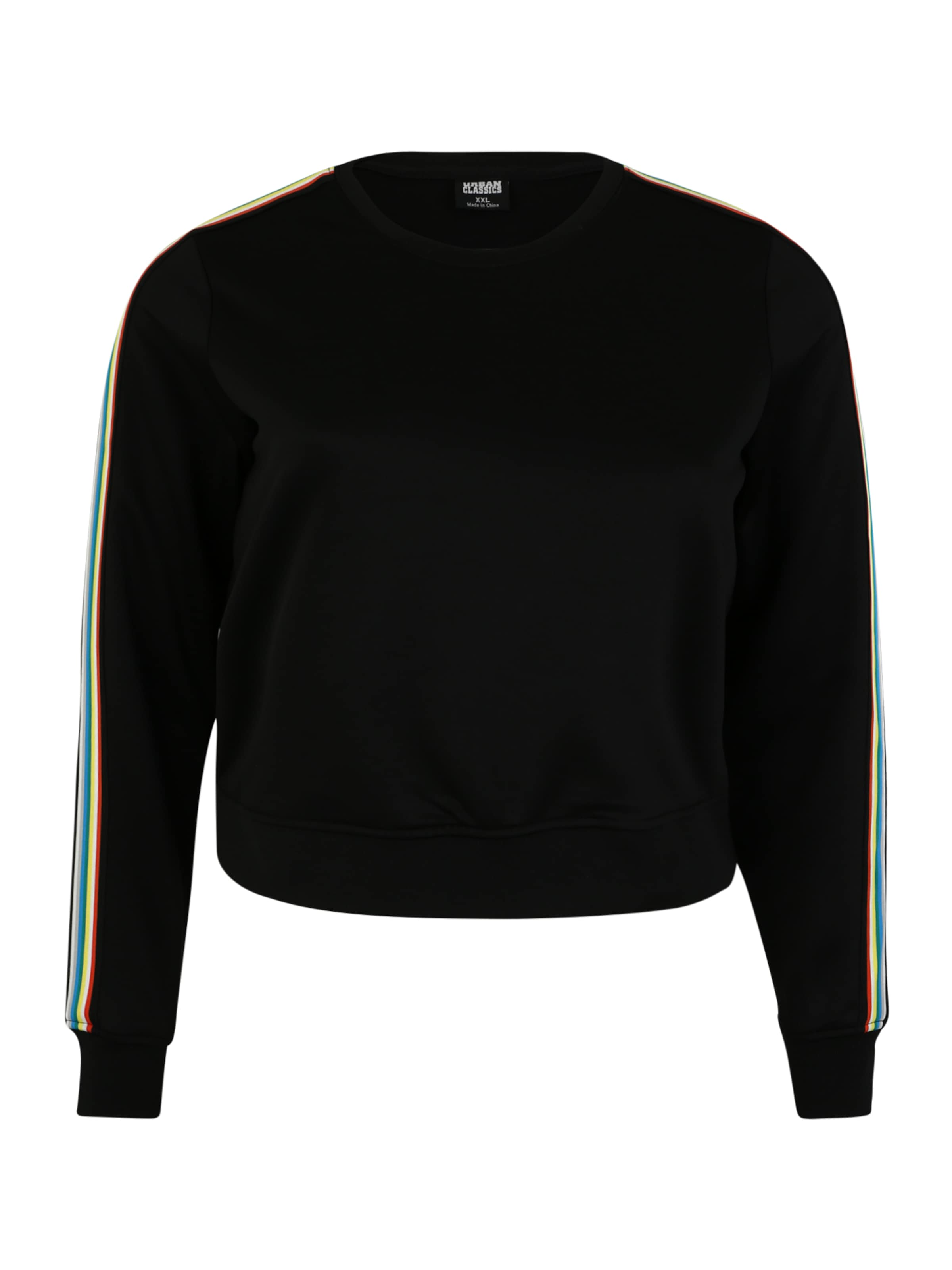 Curvy Urban Classics MischfarbenSchwarz Sweatshirt In hxstQrdC