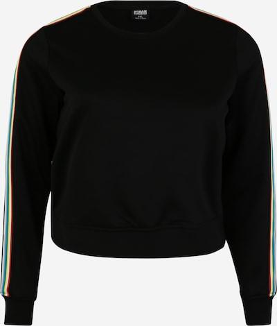 Urban Classics Sweat-shirt en mélange de couleurs / noir, Vue avec produit
