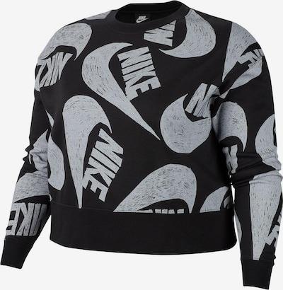Nike Sportswear Sweatshirt 'Icon Clash' in grau / schwarz, Produktansicht