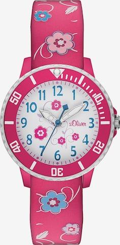 s.Oliver Uhr in Pink