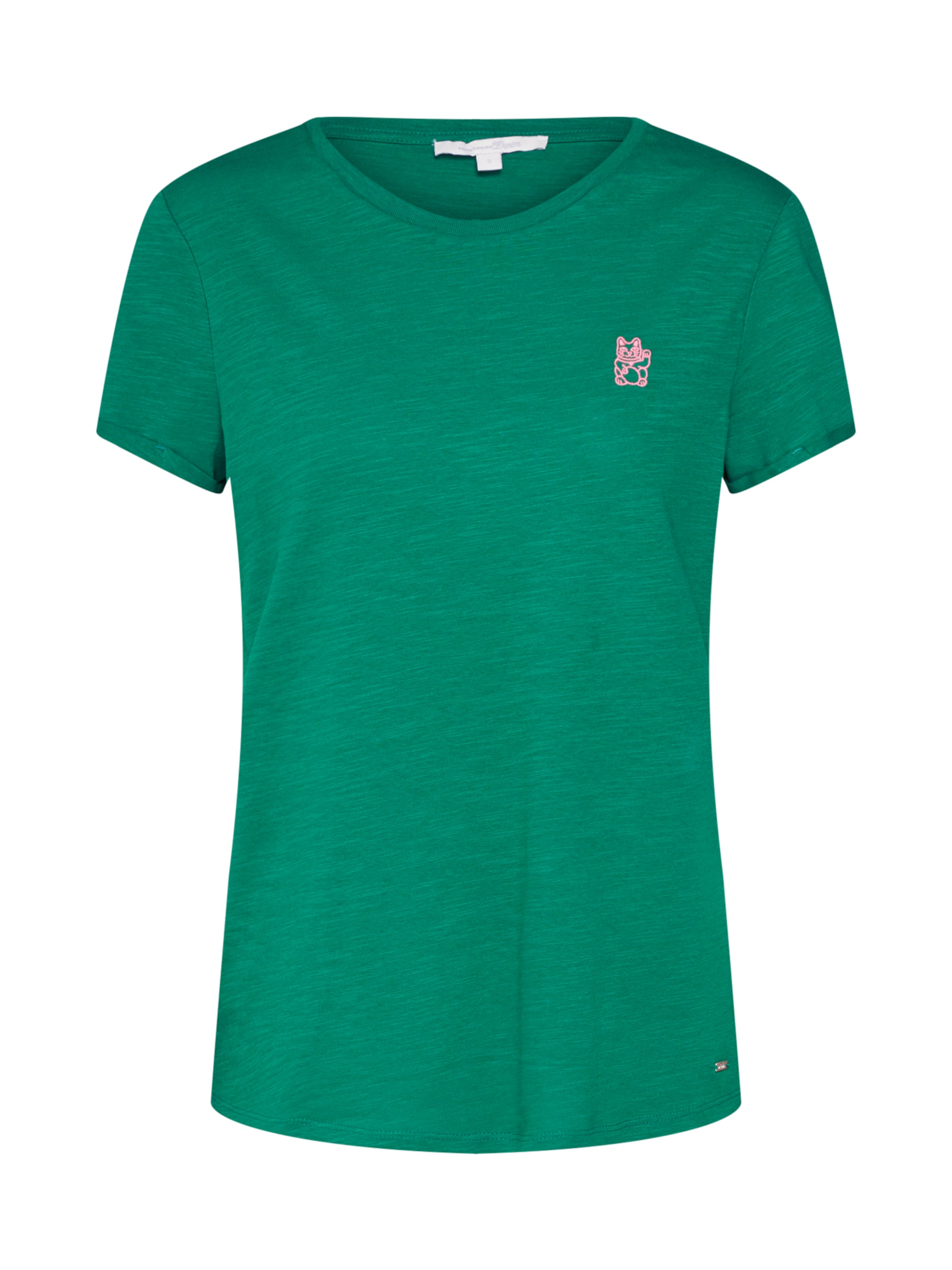 shirt Dunkelgrün T Denim In Tom Tailor eQordWCxB
