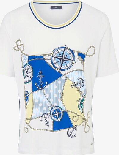 Basler T-Shirt in mischfarben / weiß, Produktansicht
