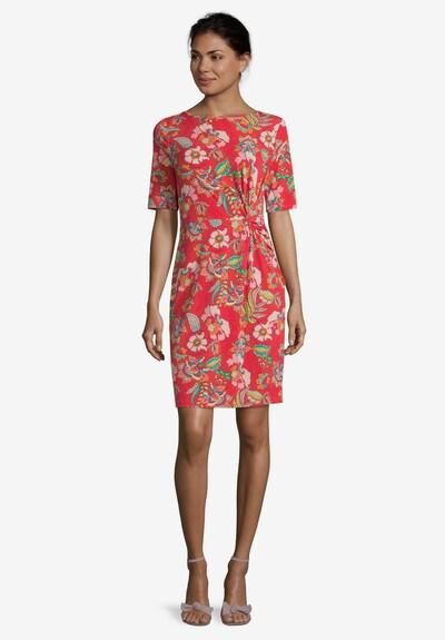 Betty Barclay Jerseykleid in mischfarben / rot: Frontalansicht