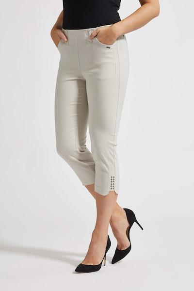 LauRie 3/4-Hose 'Mona' im eleganten Look in beige, Modelansicht