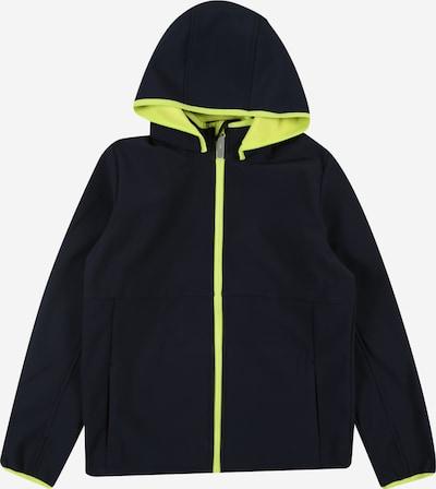 NAME IT Přechodná bunda 'MALTA' - safírová / svítivě žlutá, Produkt