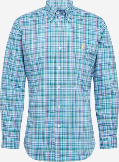 POLO RALPH LAUREN Hemd in blau / rosa: Frontalansicht
