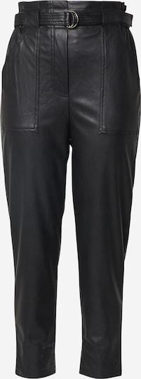 Pantaloni 'LG PU TR Dalia' Hailys pe negru, Vizualizare produs