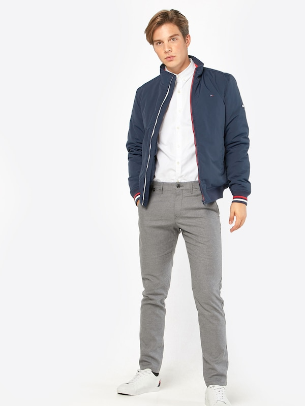 TOMMY HILFIGER Chinohose 'DENTON CHINO WOOL LOOK MILANGE TWILL'