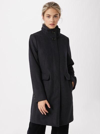 GIL BRET Wollmantel in schwarz, Modelansicht