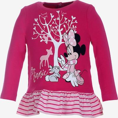 DISNEY Shirt 'Minnie Mouse' in schwarz / weiß, Produktansicht