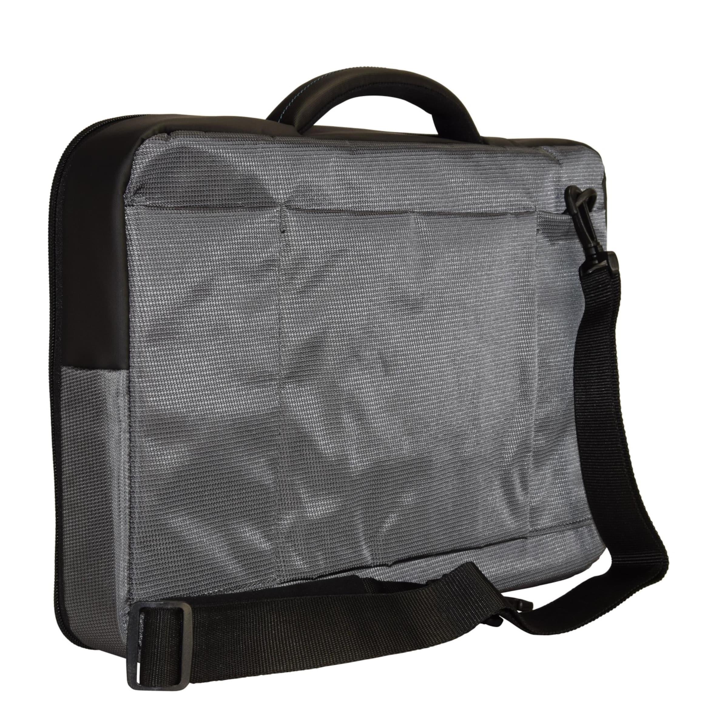 44 Samsonite Cm Qibyte AnthrazitSchwarz Laptopfach In Businesstasche nk8P0wO