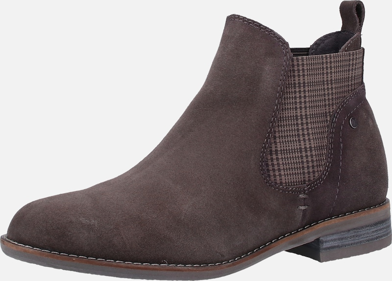 BE NATURAL Chelsea boots in de kleur Aardetinten, Productweergave
