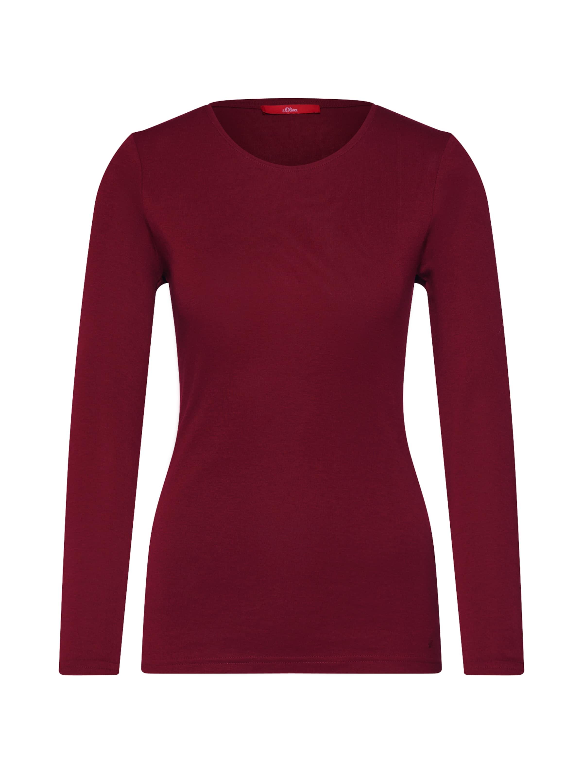 S oliver Shirt S In oliver Shirt Bordeaux oliver S Bordeaux Shirt In Lj54AR