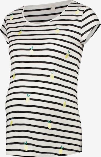 Esprit Maternity Shirt in de kleur Zwart / Wit, Productweergave