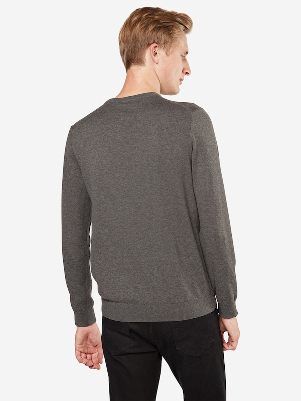 Pull Crew' Esprit over Taupe En 'basic Co FT3Kcl1J