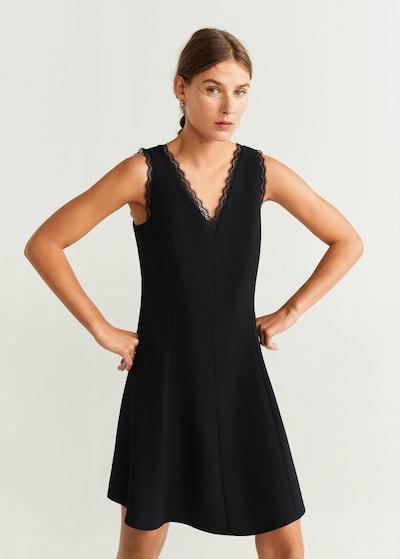 MANGO Kleid 'Eva' in schwarz, Modelansicht