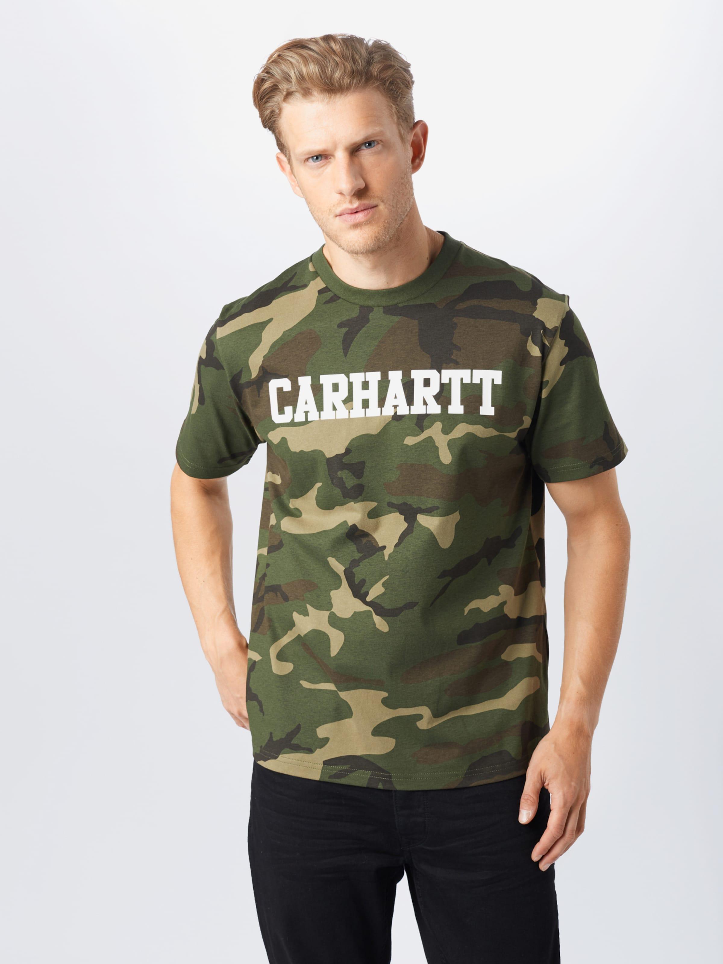 Carhartt WIP Shirt in dunkelgrün Baumwolle KT540798051