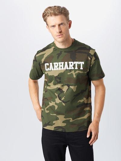 Carhartt WIP Shirt in dunkelgrün, Modelansicht