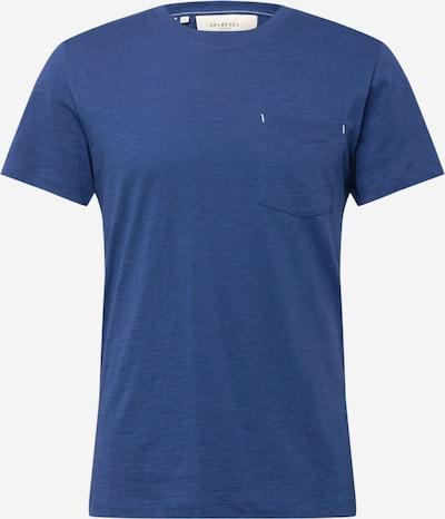 SELECTED HOMME T-Shirt 'Jared' in blaumeliert, Produktansicht