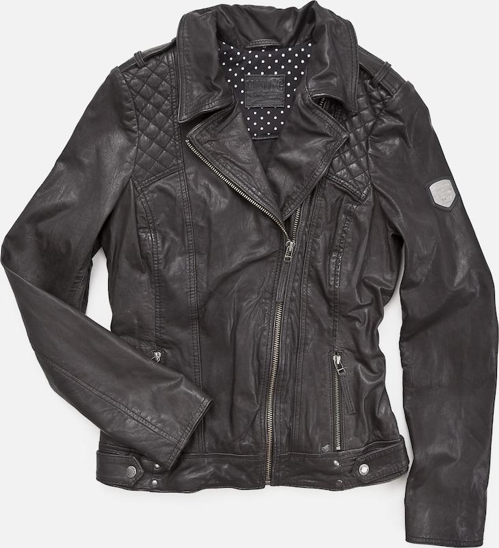 MUSTANG Lederjacke 'Saba' in in in schwarz  Mode neue Kleidung 1e0d85