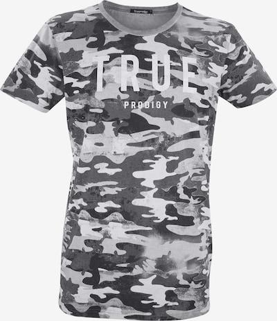 trueprodigy T-Shirt in grau / mischfarben, Produktansicht