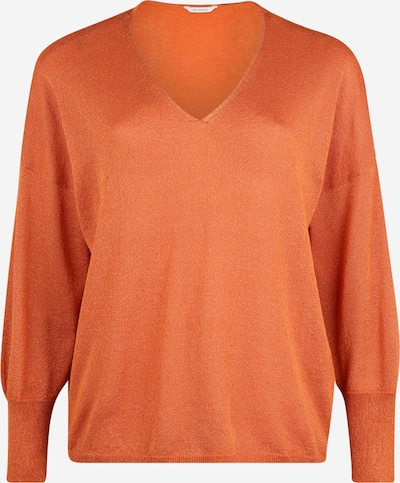 ONLY Carmakoma Pull-over 'CARSKYLAR' en orange, Vue avec produit