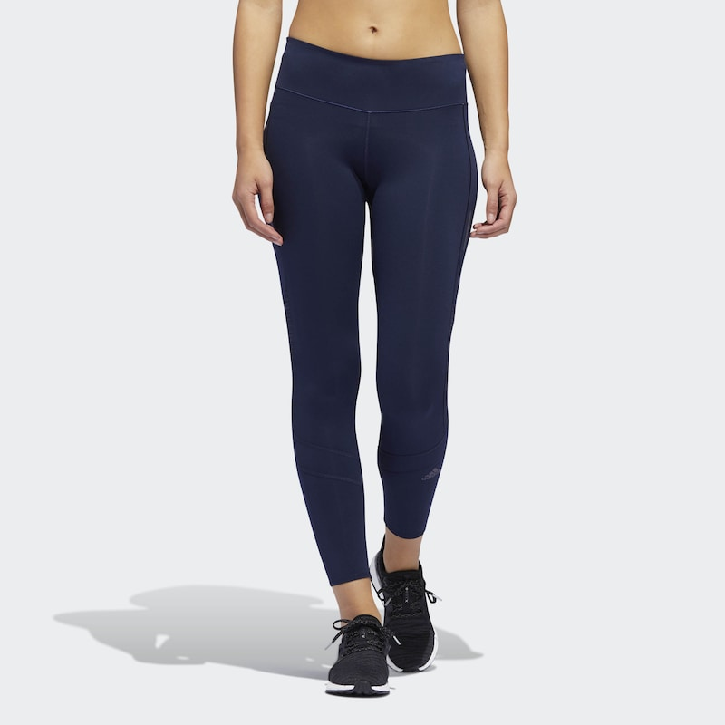 ADIDAS PERFORMANCE Tight 'How We Do Litght' in dunkelblau: Frontalansicht