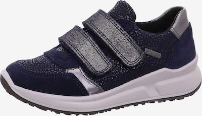 SUPERFIT Sneaker 'Merida' in dunkelblau / silber, Produktansicht