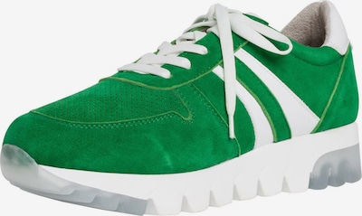 TAMARIS Sneaker in grün / weiß, Produktansicht