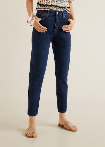 MANGO Jeans 'Mom' in dunkelblau, Modelansicht